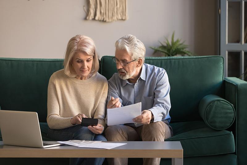 senior-couple-reviewing-finances